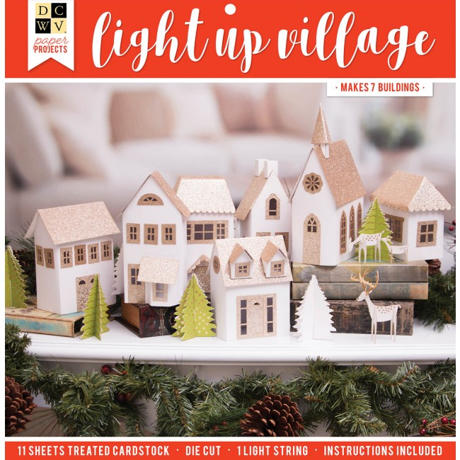 Paper Projects - Christmas Village