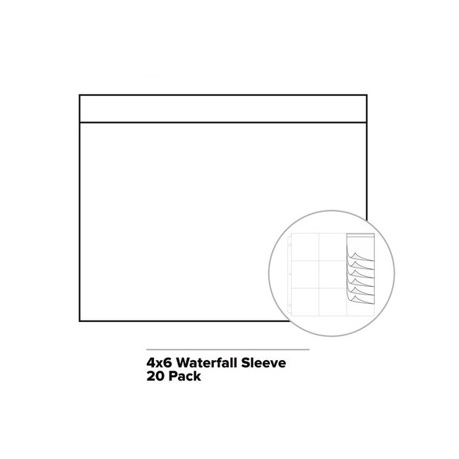 Waterfall Fuse Photo Sleeve 4x6 Horizontal