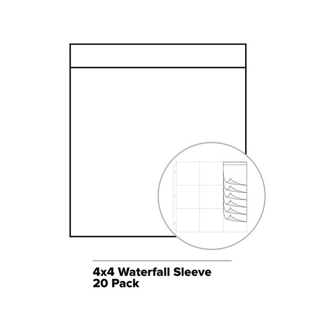 Waterfall Fuse Photo Sleeve 4x4
