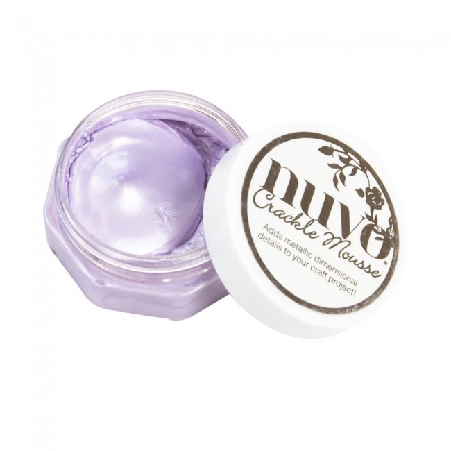 Pâte Crackle Mousse Nuvo Misty Mauve
