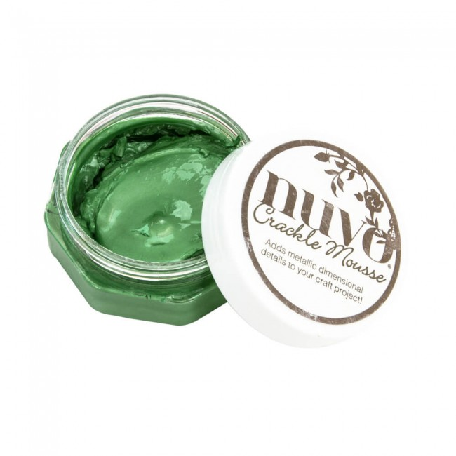 Pâte Crackle Mousse Nuvo Chameleon Green