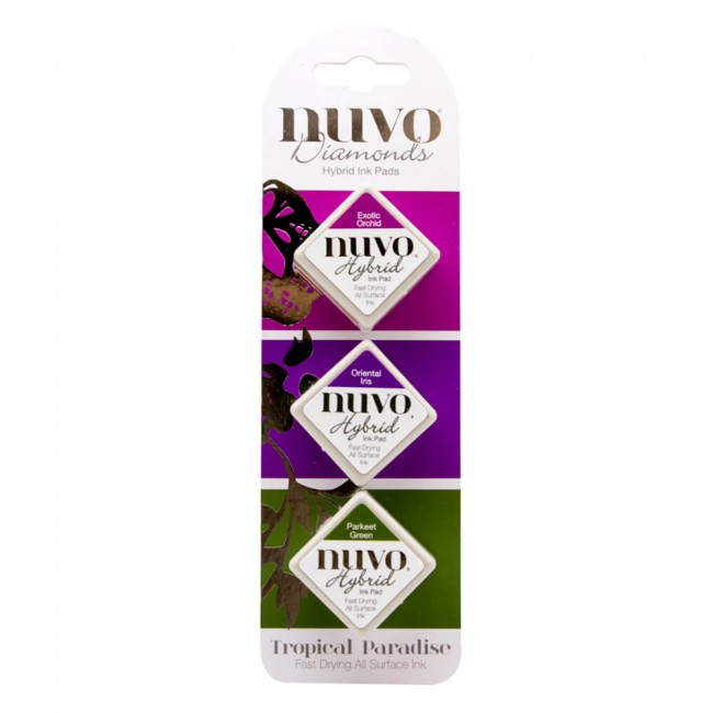Nuvo Diamonds Hybrid Ink Tropical Paradise
