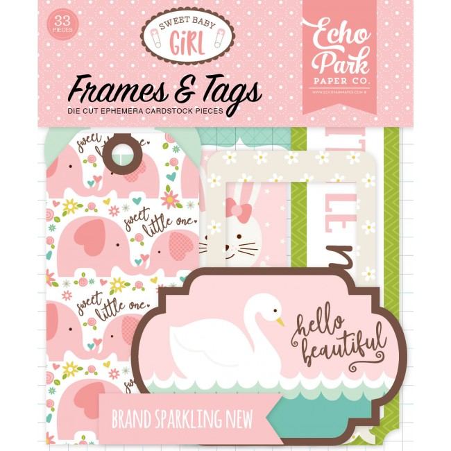 Tags & Frames Sweet Baby Girl