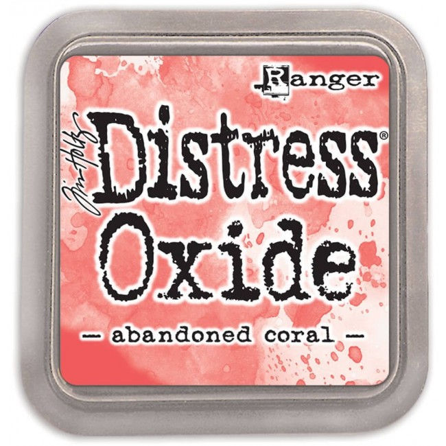 Encre Distress Oxide Ink - Abandoned Coral