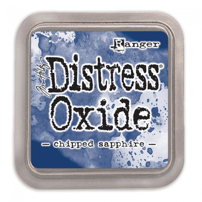 Encre Distress Oxide Ink - Chipped Sapphire