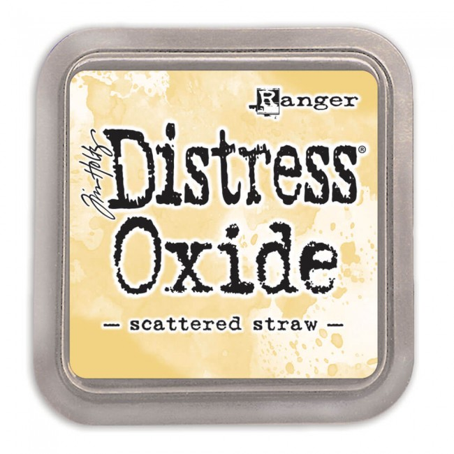 Encre Distress Oxide Ink Scattered Straw