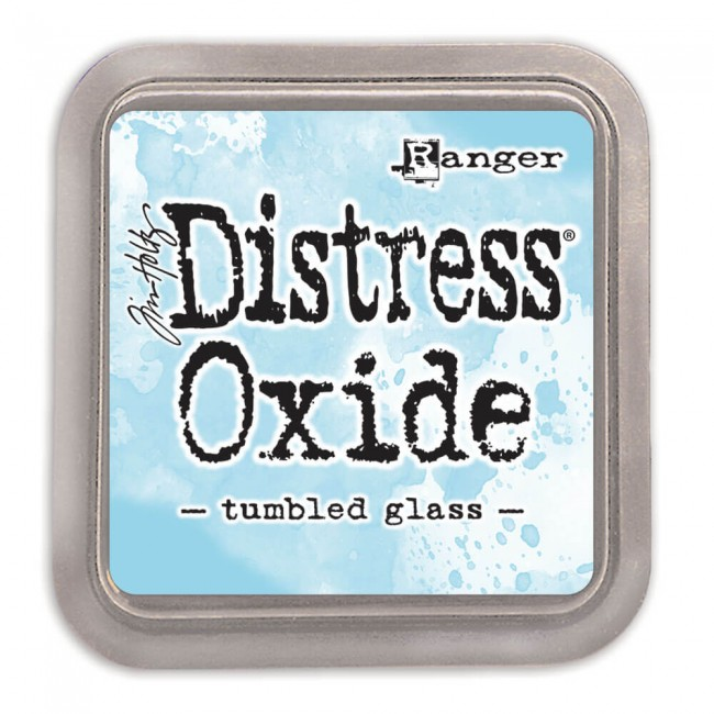 Encre Distress Oxide Ink Tumbled Glass