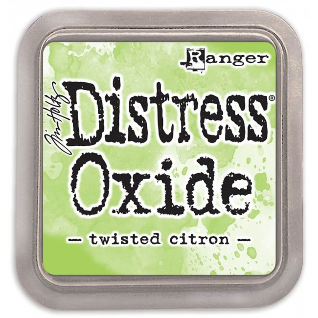Encre Distress Oxide Ink - Twisted Citron