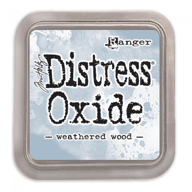 Encre Distress Oxide Ink - Weathered Wood