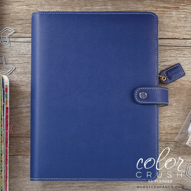 Agenda A5 Color Crush Personal Planner - Navy