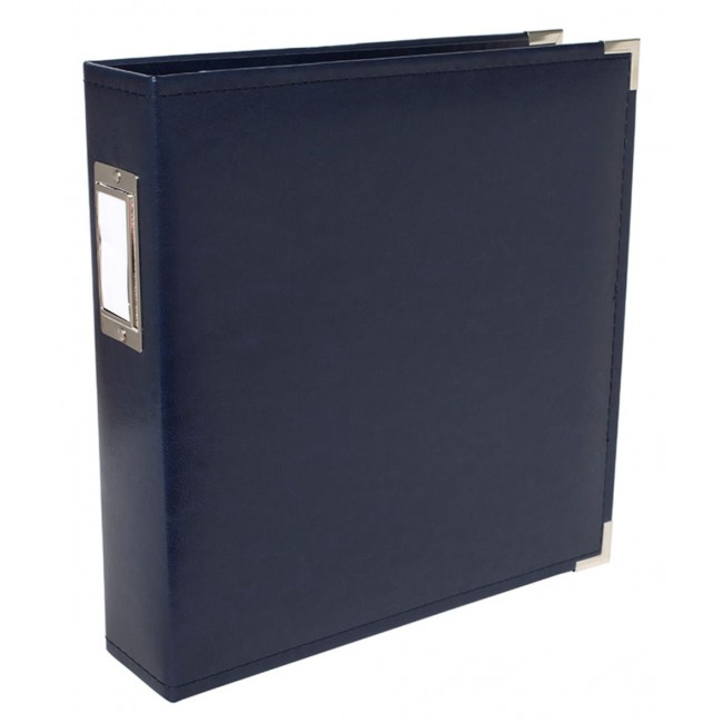 "Album 8.5"" x 11"" Faux Cuir Navy"