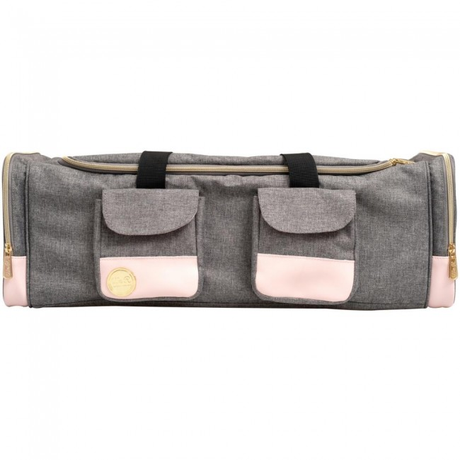 Sac de transport pour machine à decoupe  Rosa y Gris