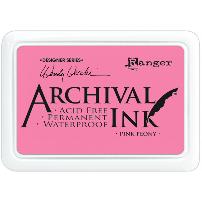 Encre Archival Ink Pink Peony
