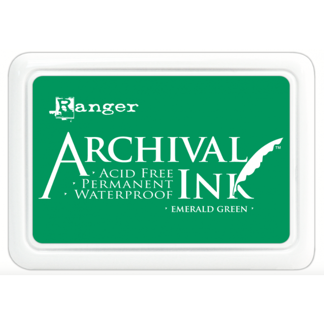 Encre Archival Ink Emerald Green