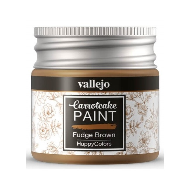 Peinture Acrylique Carrotcake - Fudge Brown