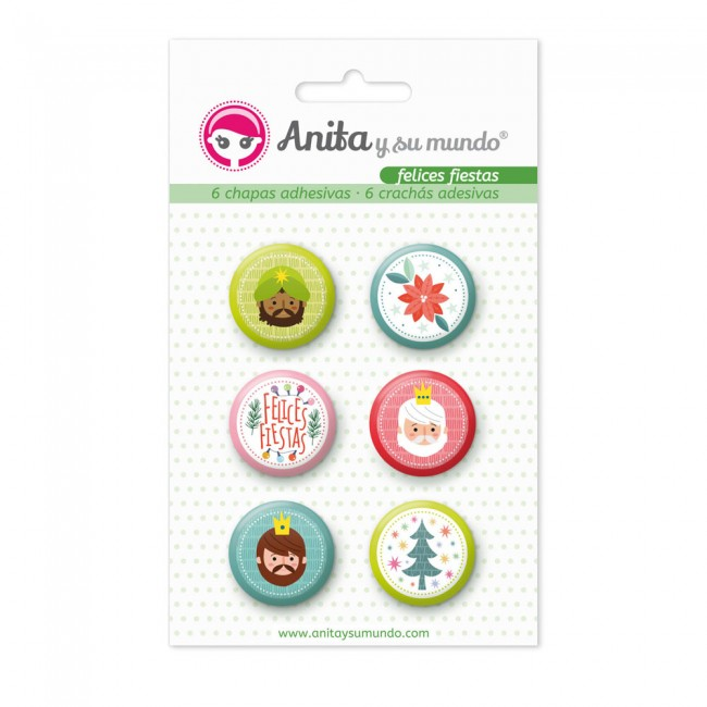 Badges Felices Fiestas