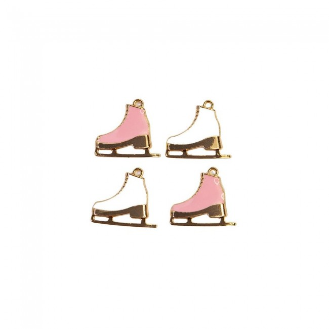 Set de Charms Sugar Cookie Skates