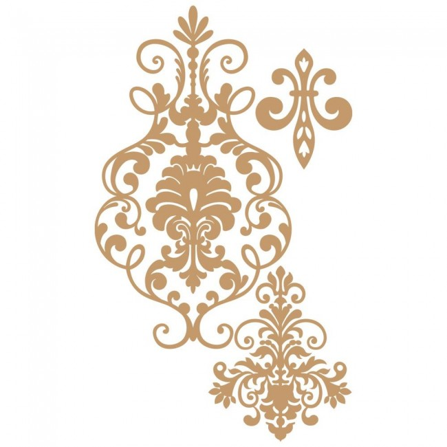 Chipboard Elegant Damansk