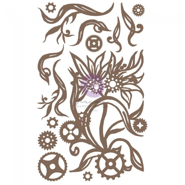 Chipboard Steampunk Blooms