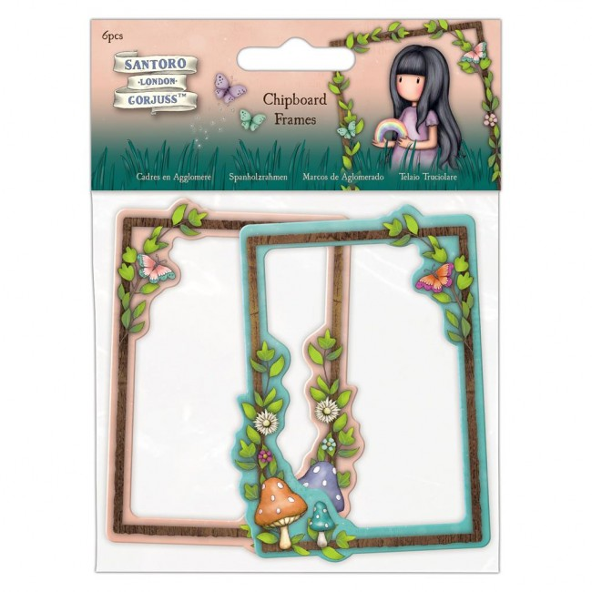 Chipboard Faerie Folk Frames