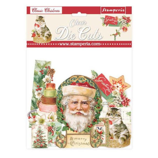Die Cuts transparents Classic Christmas