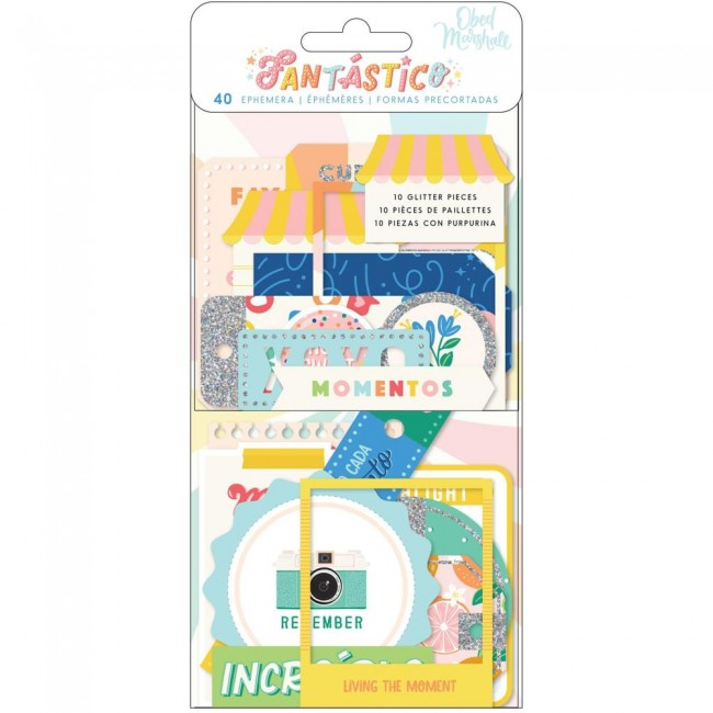 Die Cuts Fantastico Obed Marshall Icon & Title