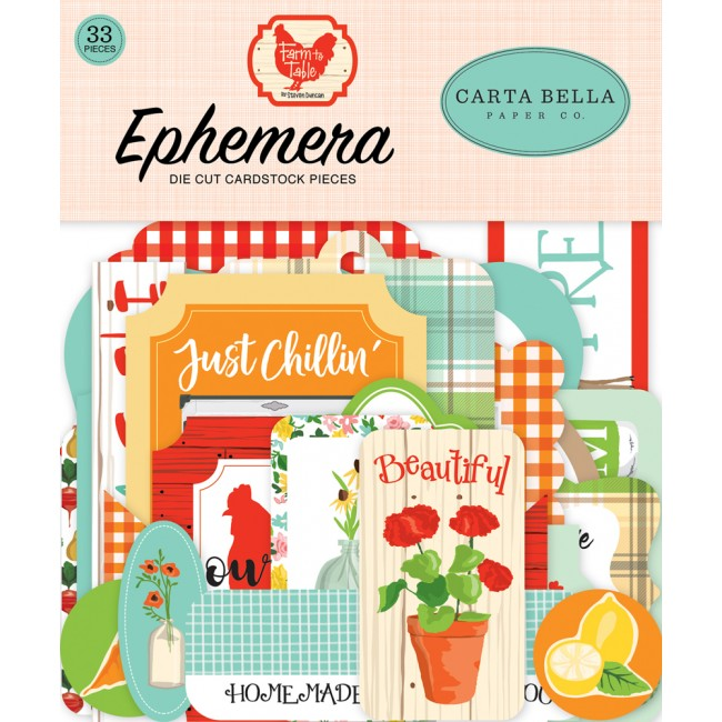 Die Cuts Farm to Table icons