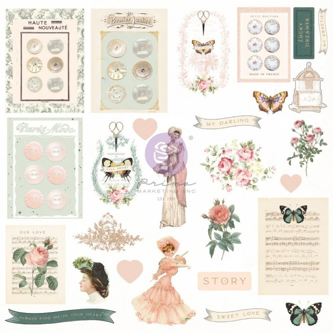 Die Cuts My Sweet By Frank Garcia Shapes Tags Words Foiled Accents