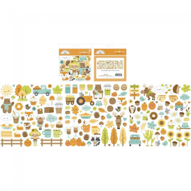 Die Cuts Pumpkin Spice Odds & Ends