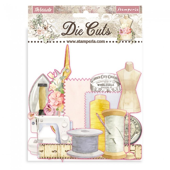 Die Cuts Romantic Collection Threads