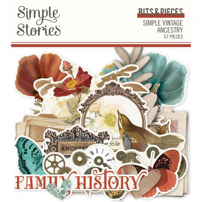 Die Cuts Simple Vintage Ancestry