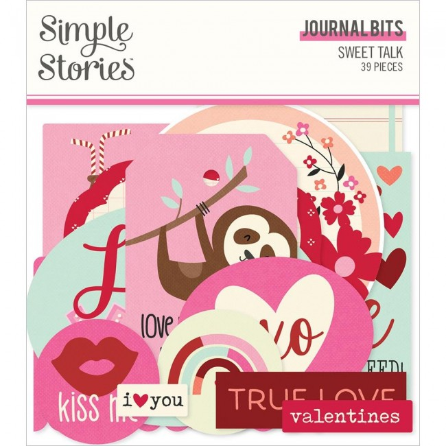 Die Cuts Sweet Talk Journal
