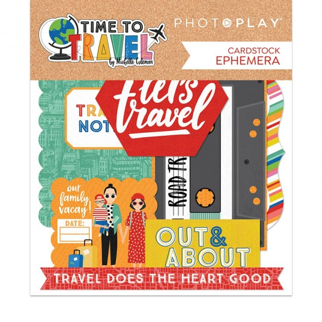 Die Cuts Time to Travel