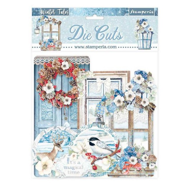 Die Cuts Winter Tales Quotes and Labels
