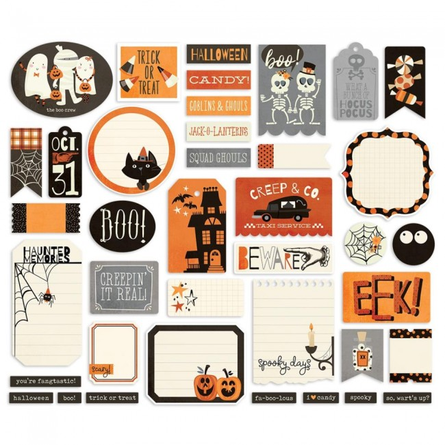 Die Cuts Boo Crew Journal