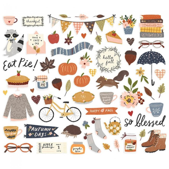 Die Cuts Cozy Days