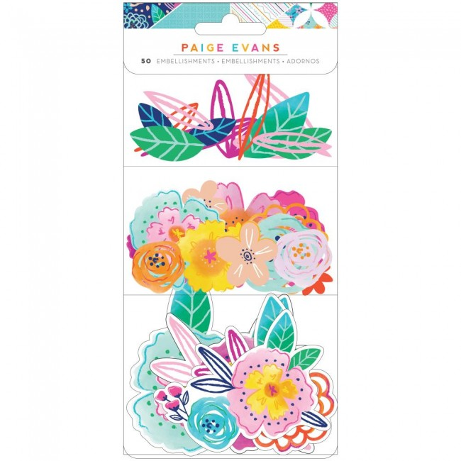 Die Cuts Go To The Scenic Route Paige Evans Floral