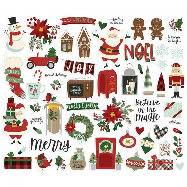Die Cuts Jingle All The Way