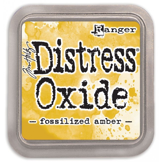 Encre Distress Oxide Ink Fossilized Amber
