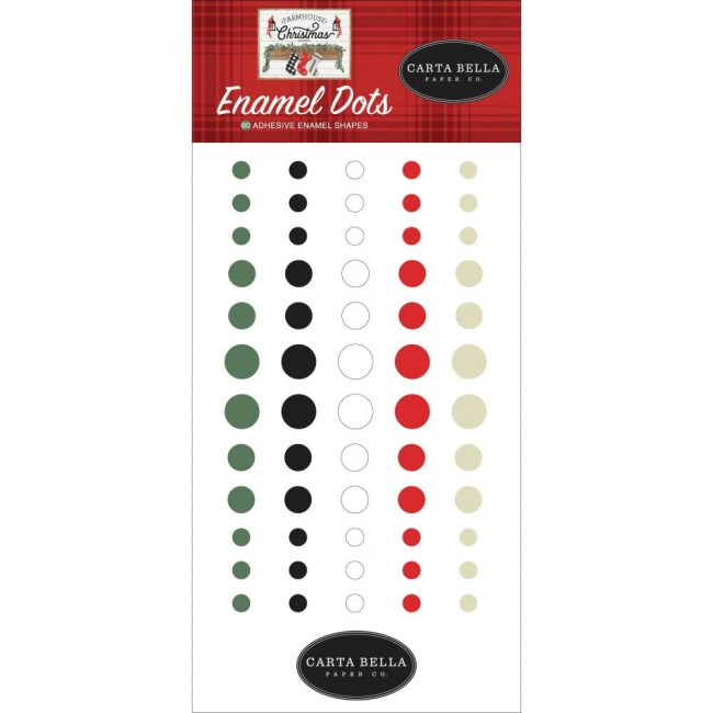 Enamel Dots Farmhouse Christmas