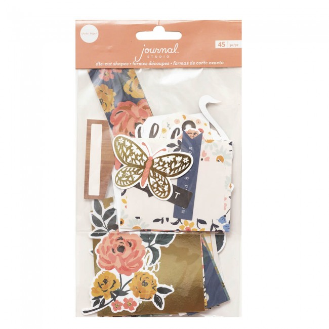 Die Cuts Journal Studio Love This Life By Crate Paper