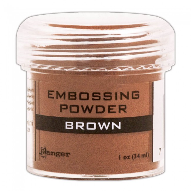 Poudre d'embossing Brown