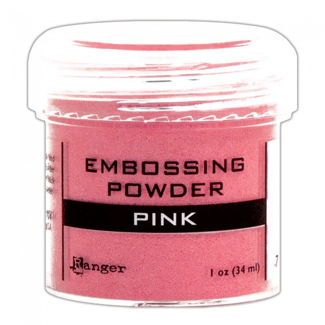 Poudre d'embossing Pink