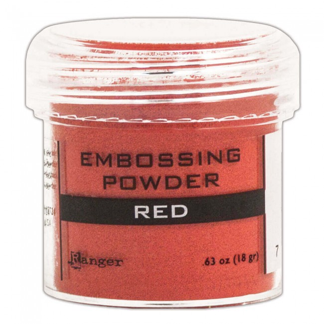 Poudre d'embossing Red