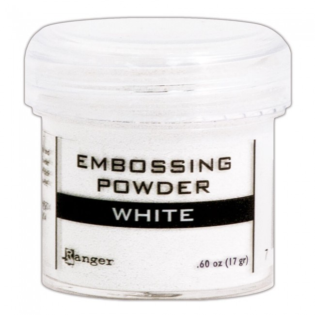 Poudre d'embossing White