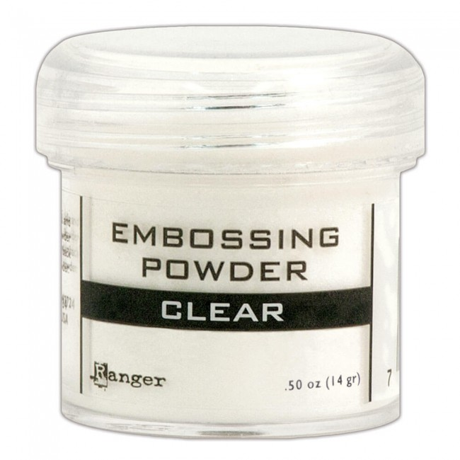 Poudre d'embossing Clear