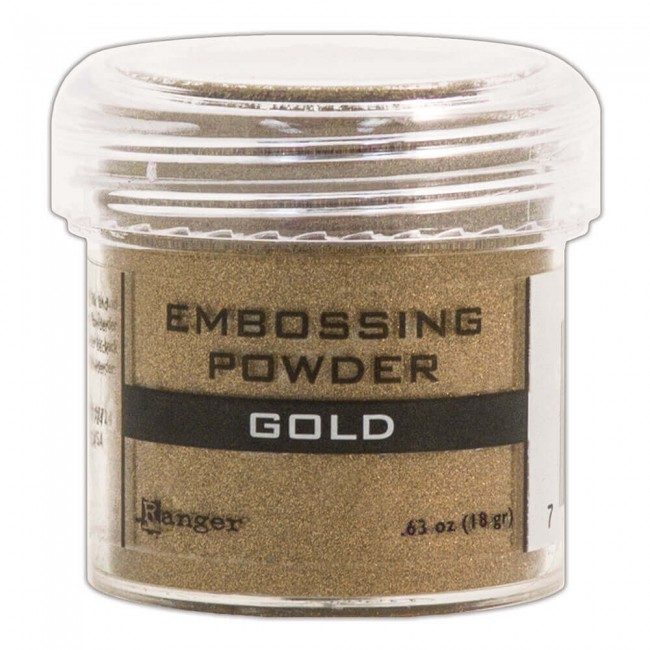Poudre d'embossing Gold