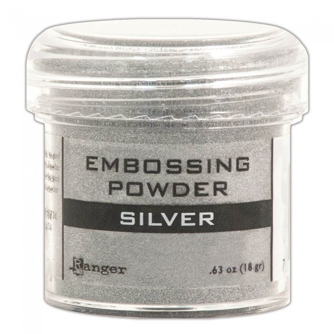 Poudre d'embossing Silver