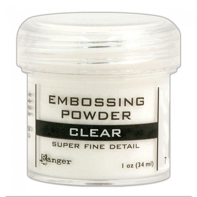 Poudre d'embossing Super Fine Clear