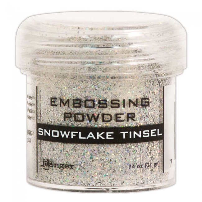 Poudre d'embossing Snowflake Tinsel